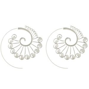 Jewelry - 🆕 Earrings Large Geo Hoop Fashion Lightweight